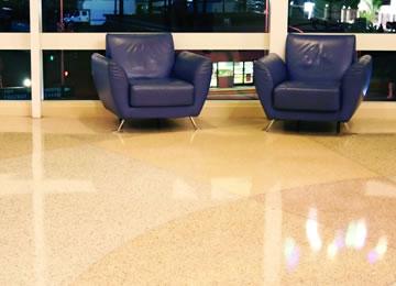 Terrazzo Floors Honing Refinishing Maintenance Services Atlanta GA