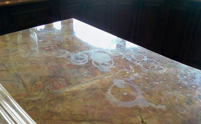 Merveilleux ... Marble Countertop Before ...