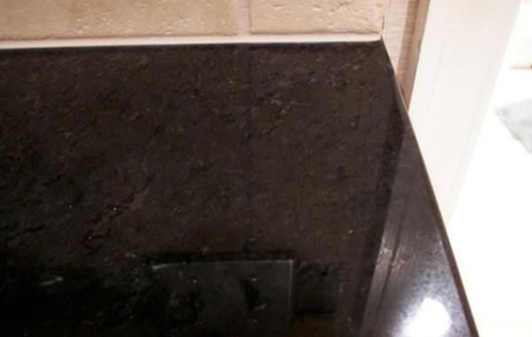 Chipped Granite Countertop Repaired