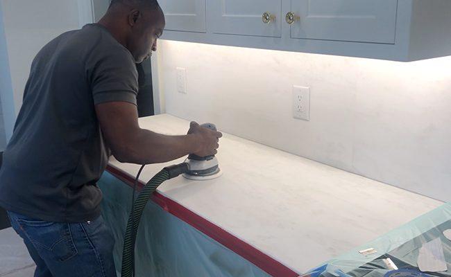 Marble Countertop Refinishing