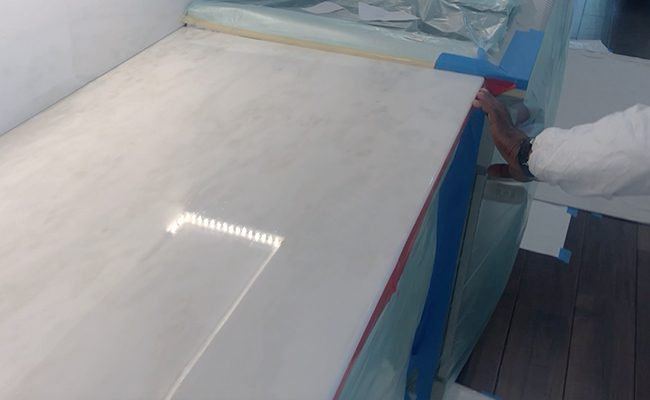 Marble Countertop Etch Protection