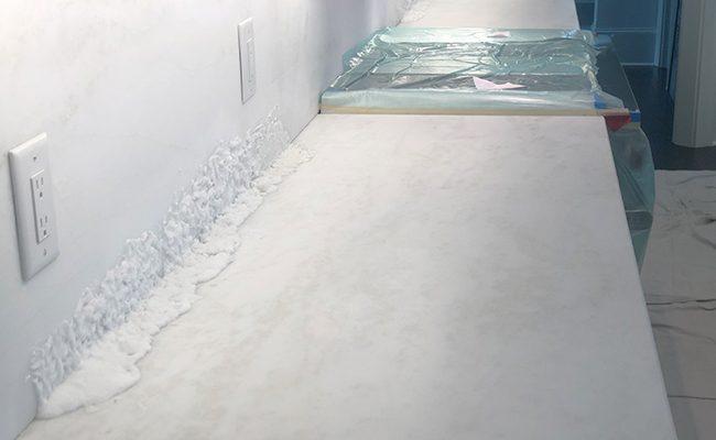 Marble Backsplash Stain Removal