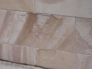Damage caused by chemical application
